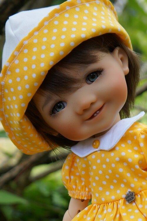 Gigi , BJD de Meadowsdolls , ou la vie en jaune !