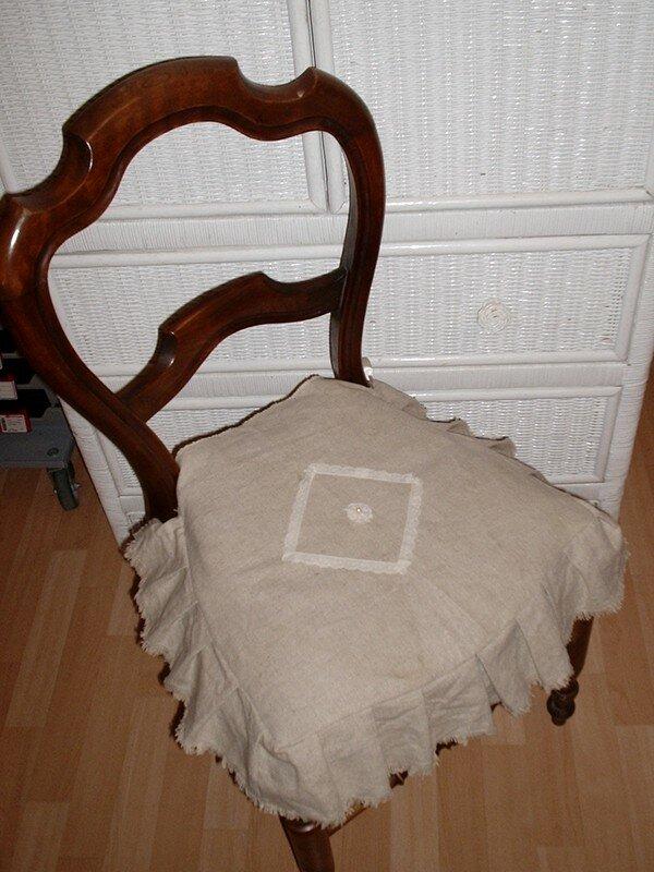 galette de chaise bourdinus et bourdinette. Black Bedroom Furniture Sets. Home Design Ideas