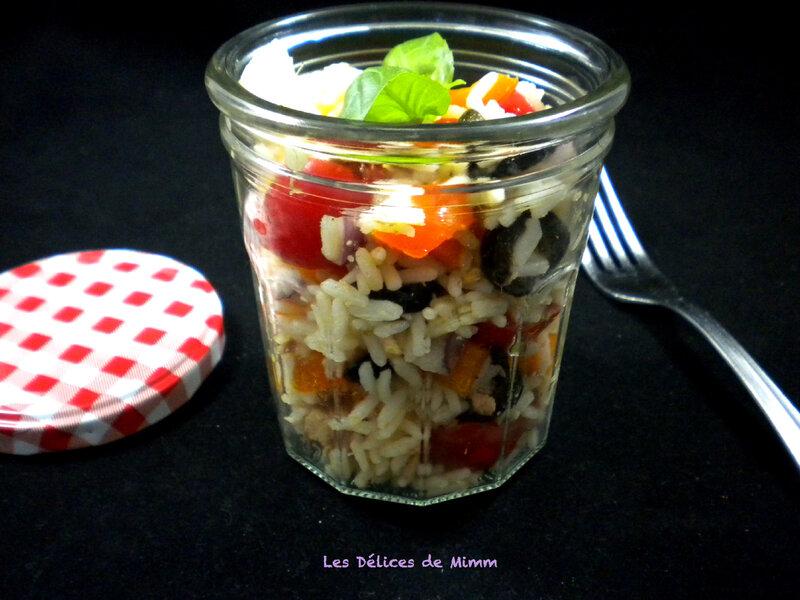 Salade de riz façon niçoise 5