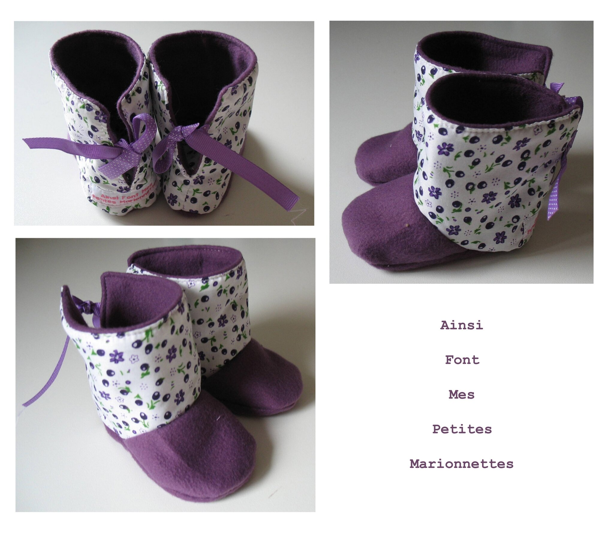 bottines violettes 2