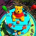 Gâteau winnie l'ourson !
