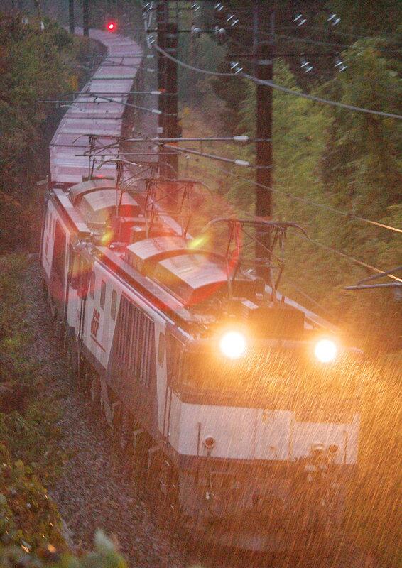 Zaza no Ame train