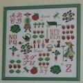 Le jardin de Perette Samouïloff- Point de croix Magazine 07/08/2005