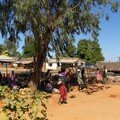 Petit marché en bord de route
