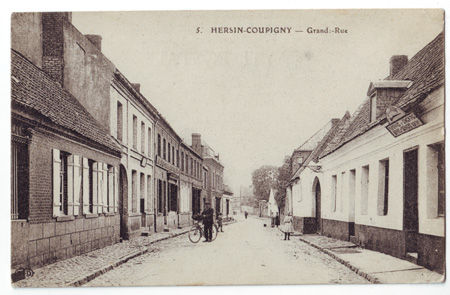 62 - HERSIN COUPIGNY - Grand Rue