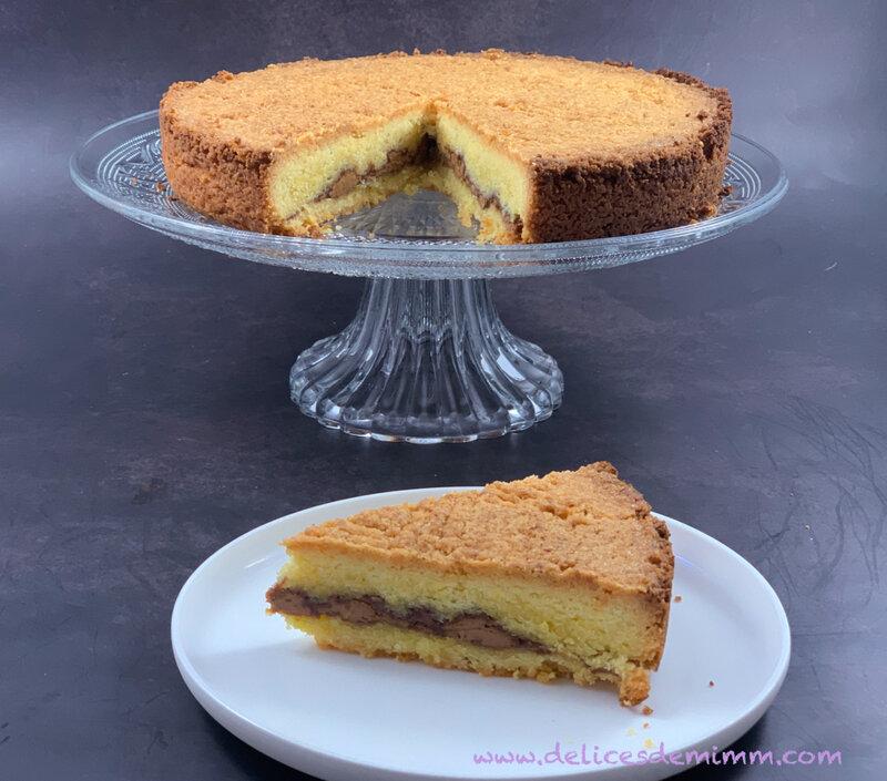 Le gâteau breton au praliné 4