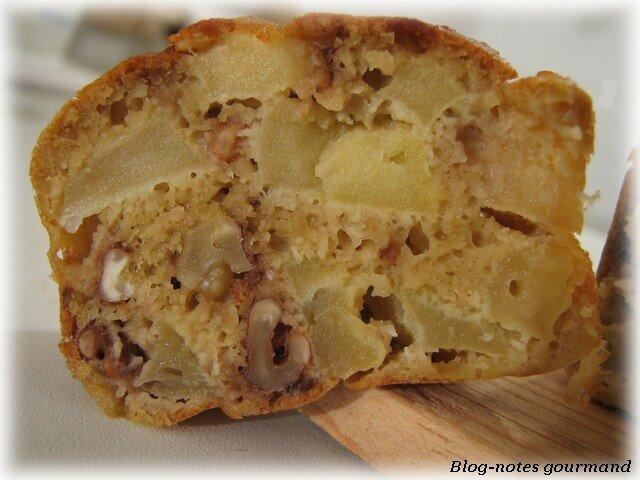 Cake Pomme Noix Amande