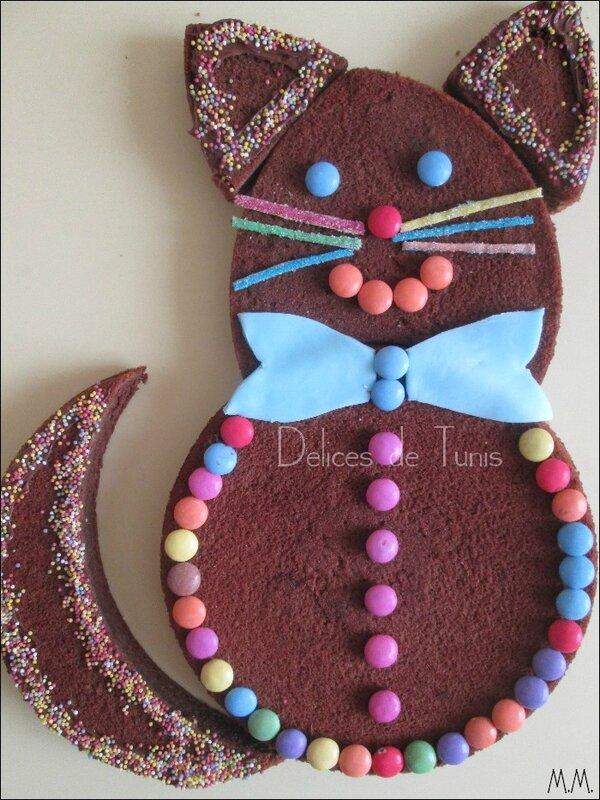 Gâteau chat 1