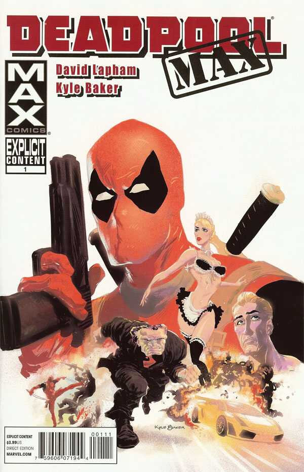 Pack VO Marvel : Deadpool
