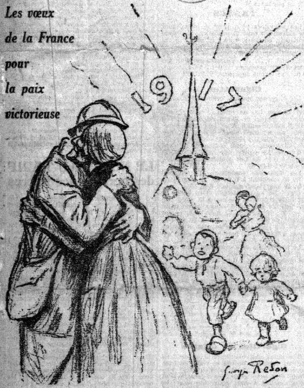 Le Petit Parisien 01 01 1917
