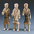 Foot soldiers, western han dynasty, 206 bce - 24 ce