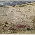 Gautier (Armand), la tombe d'Emile Duval (Mazas, 3 août 1871)