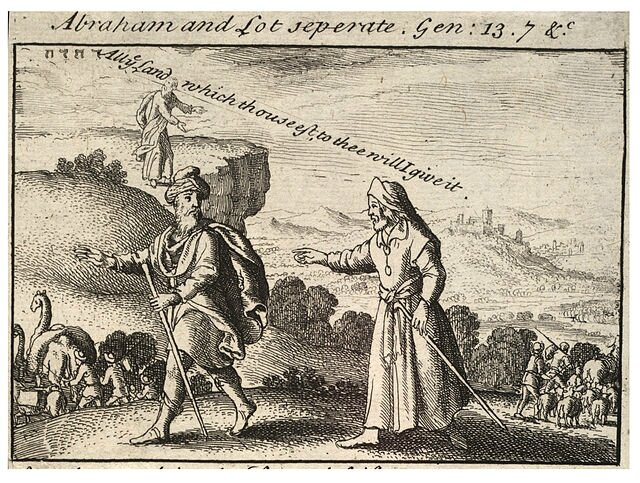 Wenceslas_Hollar_Abraham_et_Lot_separation