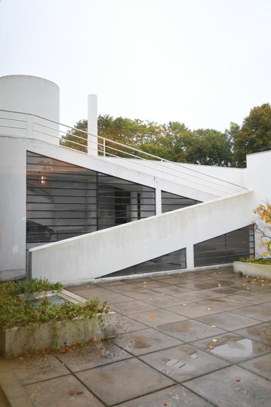 Villa Savoye, Poissy_terrasse_2