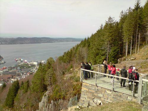 Dans les hauteurs, une vue splendide !