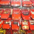 Exposition voitures de collection en miniature - grand prix de pau