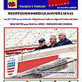 Paseo y toros sur rcb mardi 19 janvier 16h15