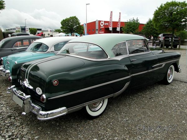 pontiac chieftain deluxe catalina hardtop coupe 1953 b