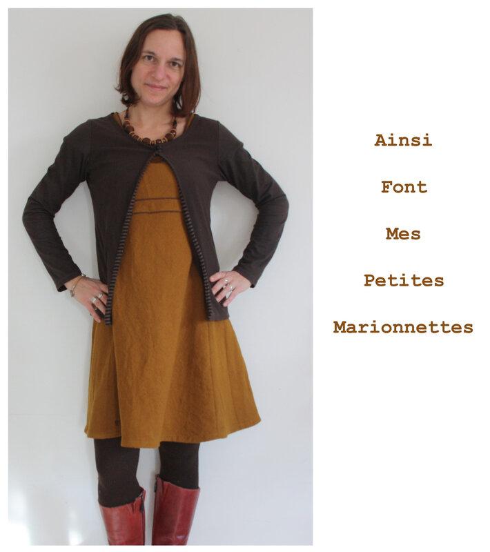 robe toile moutarde (6)