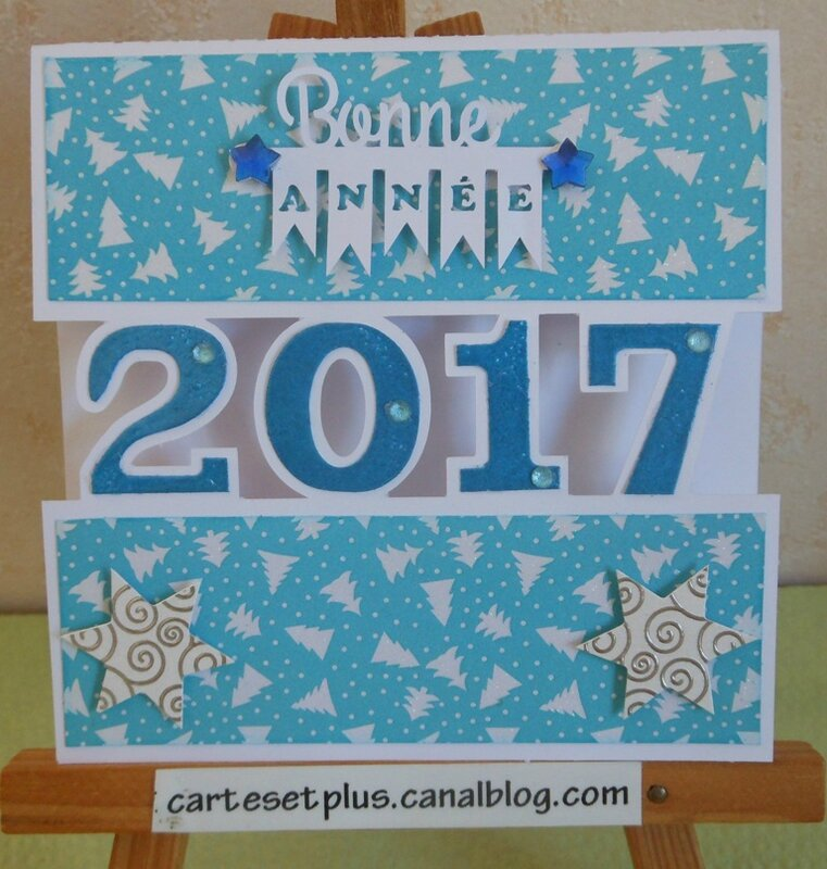 carte split bleue small
