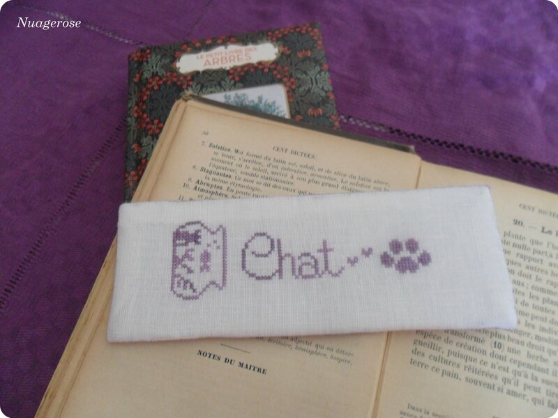 marque page chat (1)