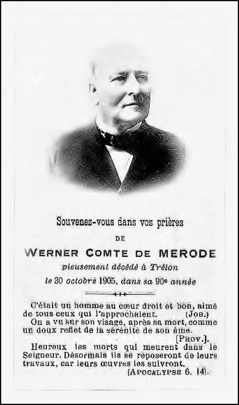 TRELON-Werner de Mérode