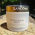 Le baume nutrix royal body de lancôme