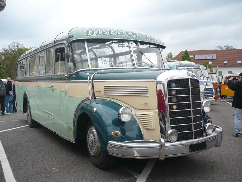MERCEDES O3500 carrosserie Kässbohrer Dietrich Bus 1952 Speyer (1)
