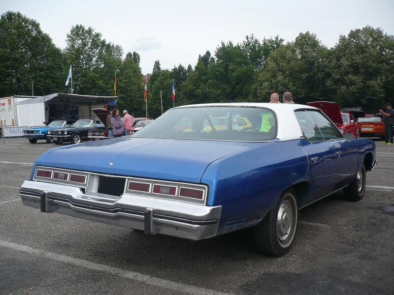 CHEVROLET Impala 4door hardtop 1974 Illzach (2)
