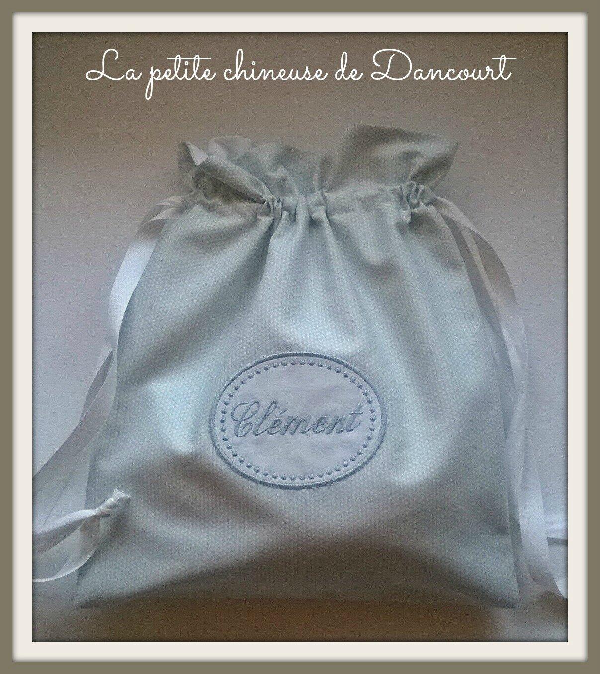 Petits sacs personnalisés chez la petite chineuse de Dancourt