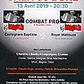 Gala de boxe a lanton le 13 avril