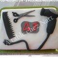 Gâteau thème coiffure