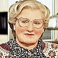 Maquillage de robin williams pour mme doubtfire