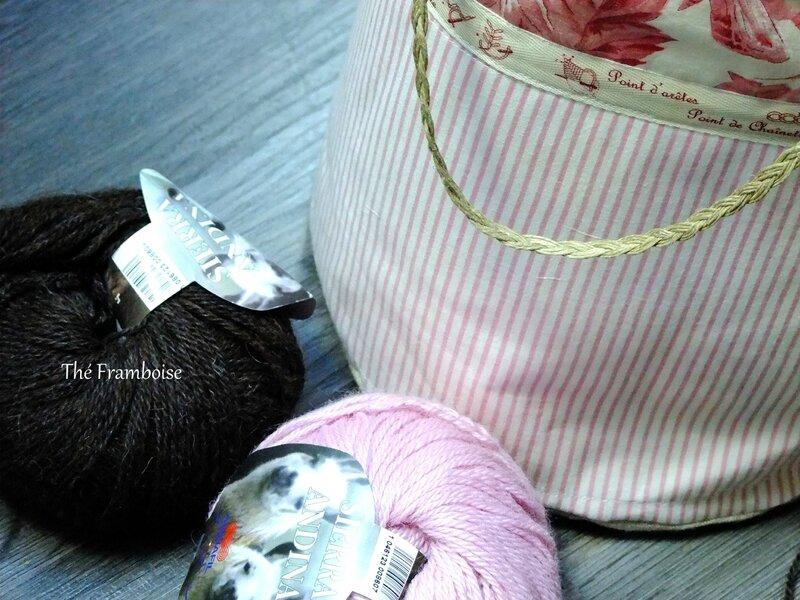 Sac rose Tricot (4)
