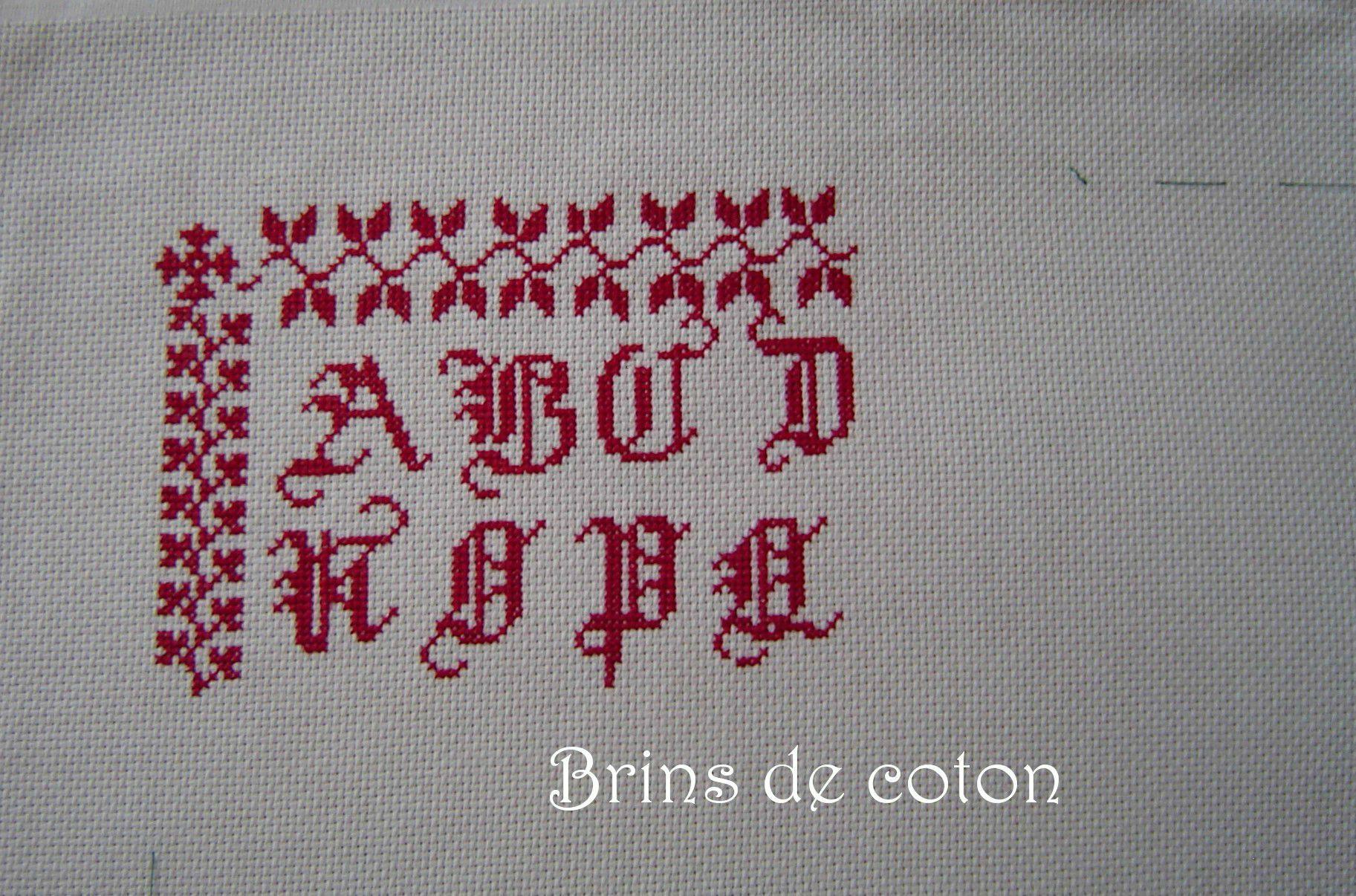 Brins de coton