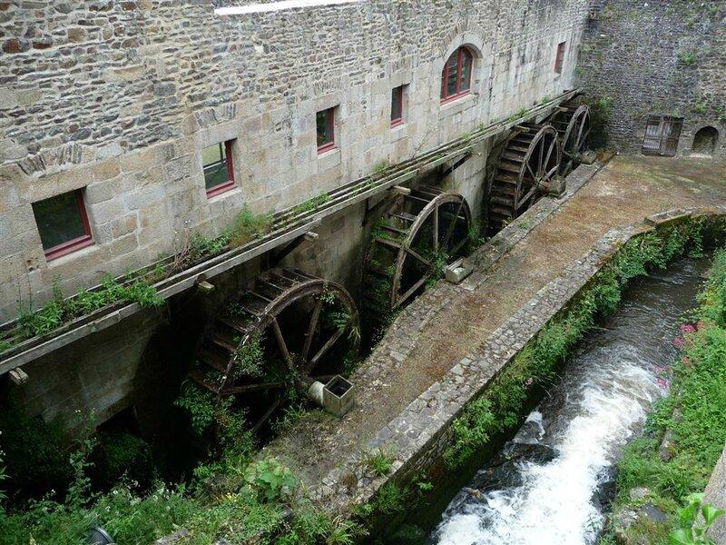 Moulin à eau du château