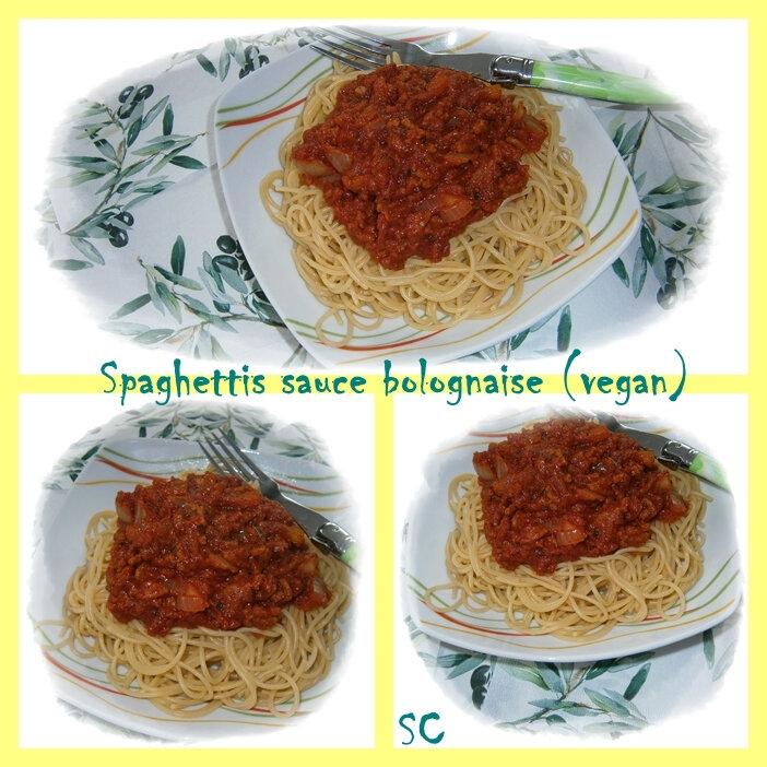 Spaghettis bolo vegan