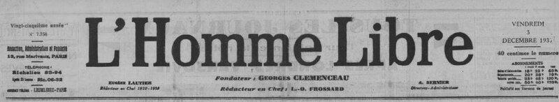 1937 le 3 décembre L'Homme libre_1