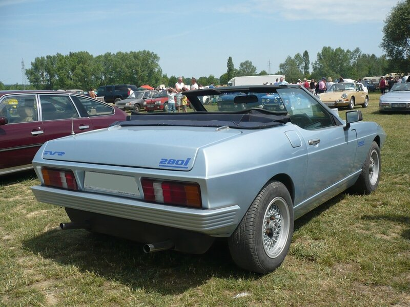 TVR Tasmin 280i cabriolet 1985 Madine (2)