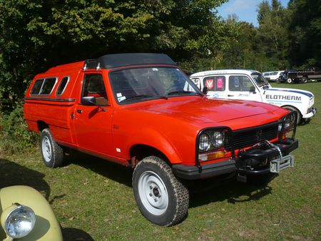 PEUGEOT 504 pick -up Dangel 4x4 avec hardtop Lipsheim (1) (1)