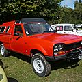 Peugeot 504 pick-up dangel 4x4 avec hardtop