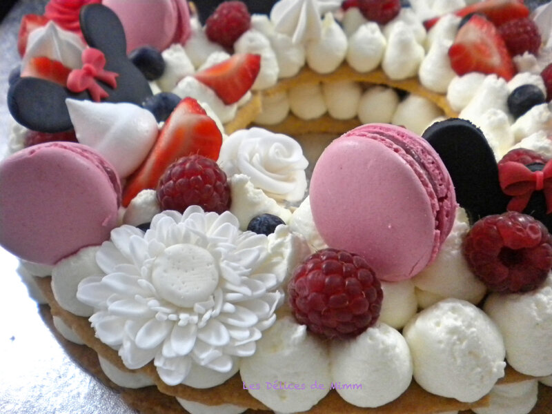 Le number cake de Marion (chantilly mascarpone au Limoncello) 4