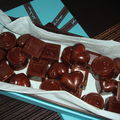 Chocolats praline-feuillete