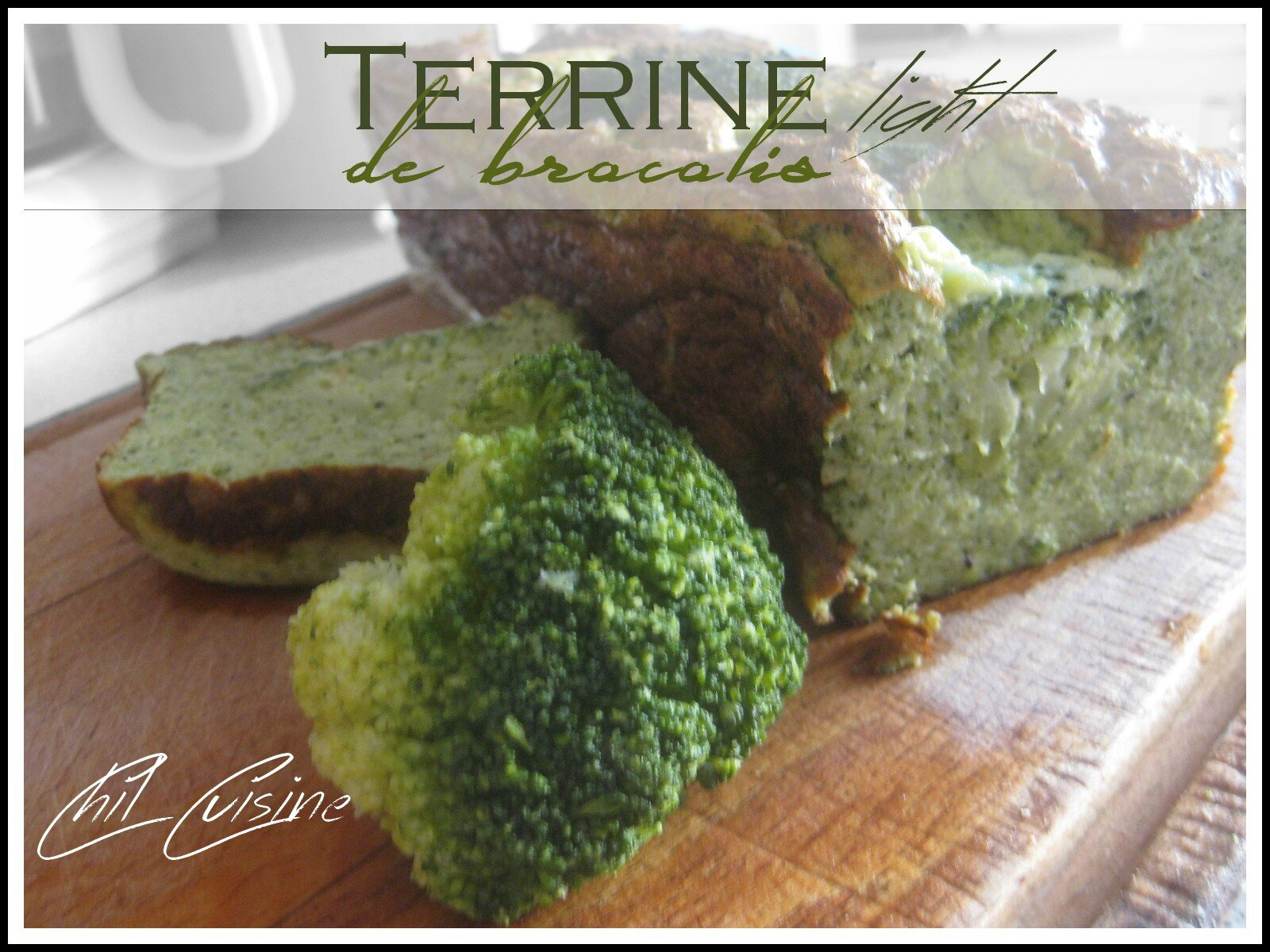 Terrine de Brocolis (light)