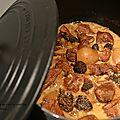 Sauté de veau au cidre et morilles