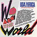 We are the world - usa for africa, 1985