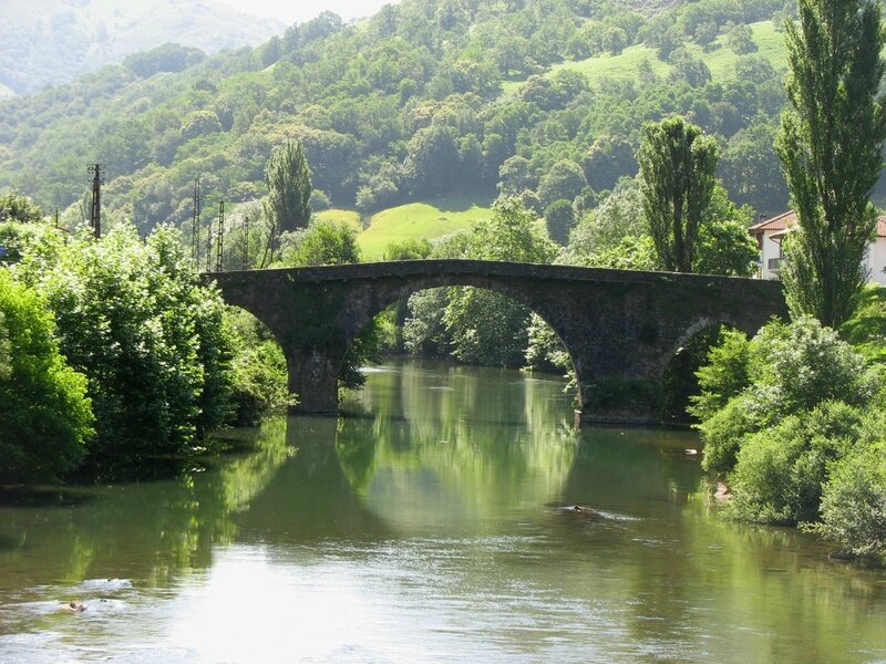 Bidarray, le pont d'Enfer