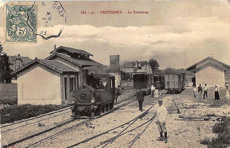 fretigney la gare tramw 70