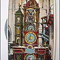 Strasbourg - l'horloge de la cathédrale