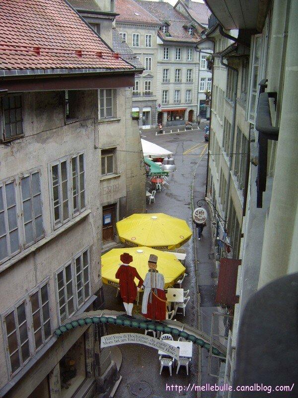 Vu de la fenétre de Bulette